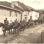 Convoi allemand traversant la Grand'Rue (1916)