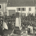 Inauguration du Monument aux Morts, 23 avril 1922 (2)