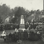 Inauguration du Monument aux Morts, 23 avril 1922