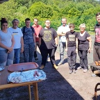 Barbecue fin de chantier